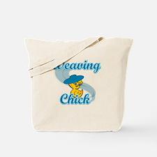 Weaving Chick #3 Tote Bag
