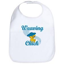 Weaving Chick #3 Bib