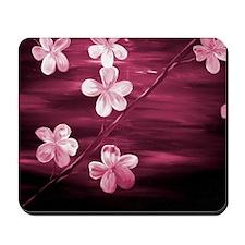 Cherry Blossom Night Shadow Mousepad