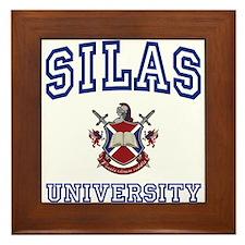 SILAS University Framed Tile