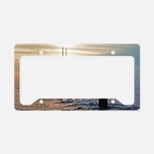 uss daniel webster mini poste License Plate Holder