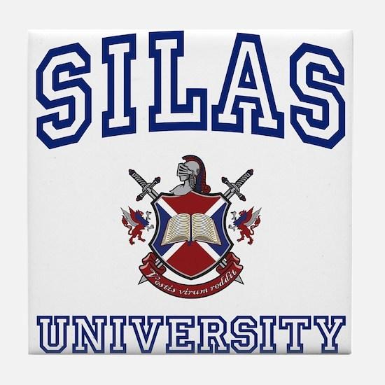 SILAS University Tile Coaster
