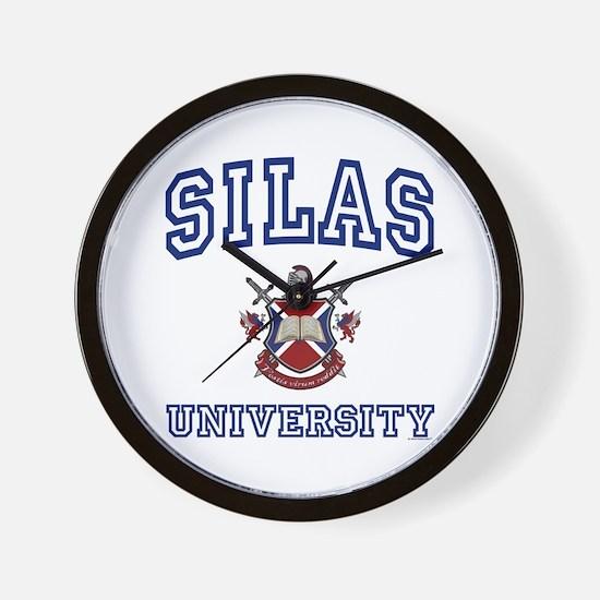 SILAS University Wall Clock