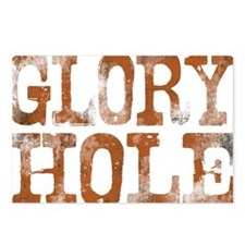 Go for the Glory Hole Postcards (Package of 8)
