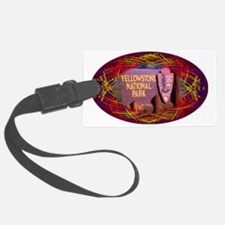 Yellowstone National Park Entran Luggage Tag