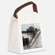 uss francis scott key note cards Canvas Lunch Bag