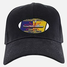 uss daniel webster patch transparent Baseball Hat