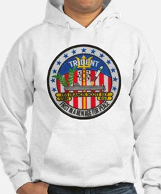 uss francis scott key patch tran Hoodie