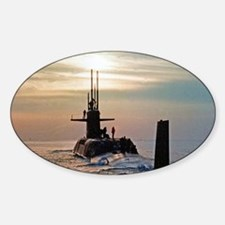 uss daniel webster small poster Decal