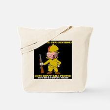 No-Guns Tote Bag
