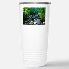 stream in the smokies Travel Mug