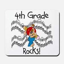 4th Grade Rocks Mousepad