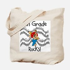 4th Grade Rocks Tote Bag