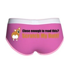 Scratch My Butt Corgi Women's Boy Brief
