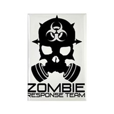 Zombie Apocalypse - Zombie Respon Rectangle Magnet