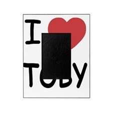 I heart TOBY Picture Frame