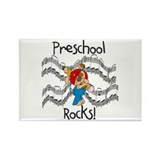 Preschool Rocks Rectangle Magnet (100 pack)