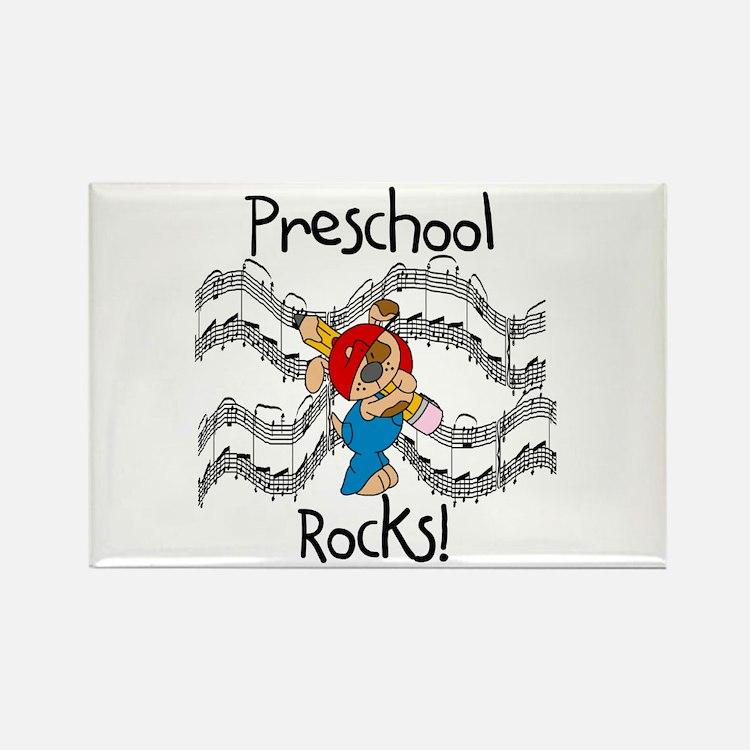 Preschool Rocks Rectangle Magnet (10 pack)