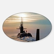 uss daniel webster note card Decal