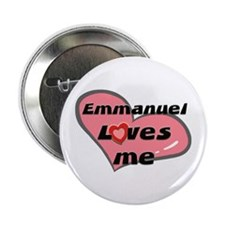 emmanuel loves me Button