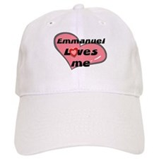 emmanuel loves me Baseball Cap