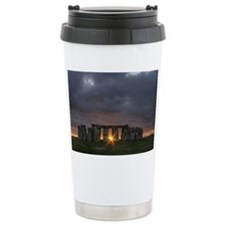 Stonehenge Sunset Ceramic Travel Mug