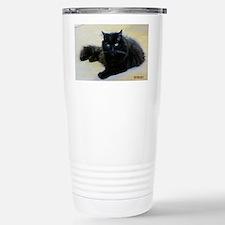 Black cat Stainless Steel Travel Mug