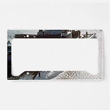 uss francis scott key mini po License Plate Holder
