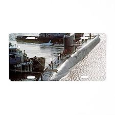 uss francis scott key mini  Aluminum License Plate