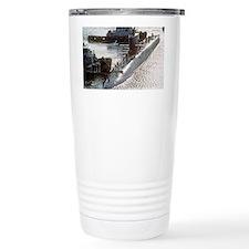 uss francis scott key mini post Travel Mug