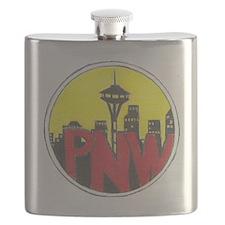 PNW Logo Flask