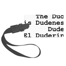 thedude Luggage Tag