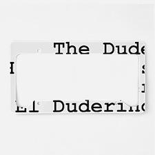 thedude License Plate Holder