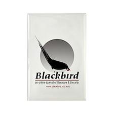 Blackbird Journal Rectangle Magnet