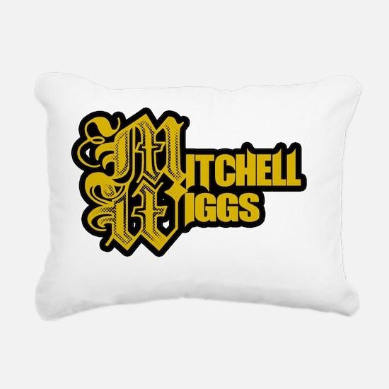 Mitchell Wiggs Stamp Rectangular Canvas Pillow