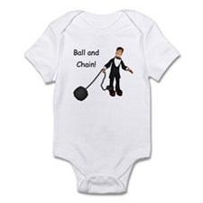 Ball and chain Infant Bodysuit