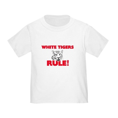 White Tigers Rule! T-Shirt