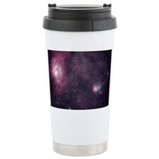 The Lagoon and Trifid Nebula Travel Mug