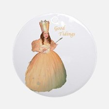 Glinda Holiday Ornament (Round)