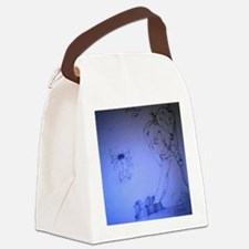 Ed Has Al's Head Canvas Lunch Bag
