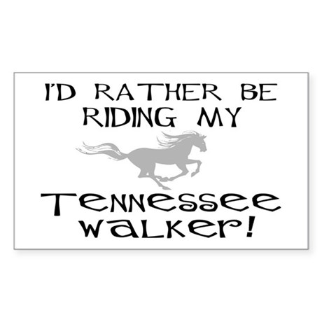 Rather-Tennessee Walker Rectangle Sticker