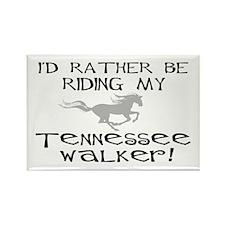 Rather-Tennessee Walker Rectangle Magnet