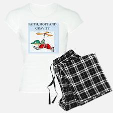 funy physics joke Pajamas