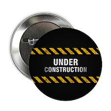 "Construction Zone 2.25"" Button"
