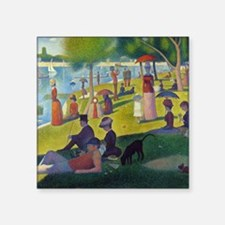 "Seurat Square Sticker 3"" x 3"""