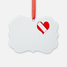 I Love Scuba Steve Ornament