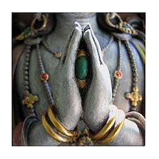 Avalokiteshvara Tile Coaster