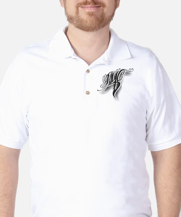 NYC ink Golf Shirt