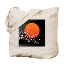 Asian Night Tote Bag