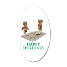Happy Holidays Wall Decal